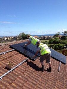 GMC Solar panel installers in Edinburgh