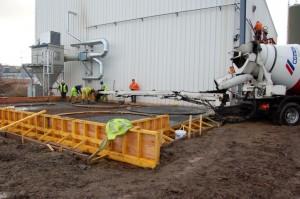 Silo Base foundations