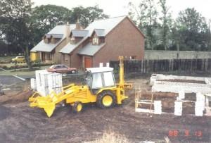 JCB 3CX, ground works