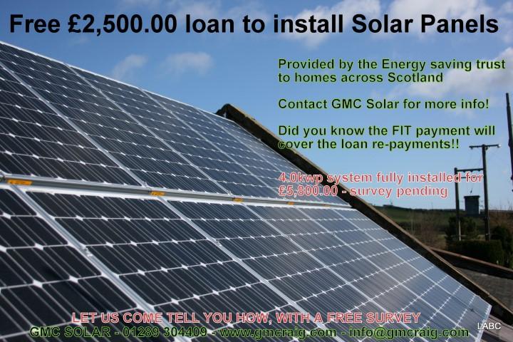 Solar Panel scotland homes