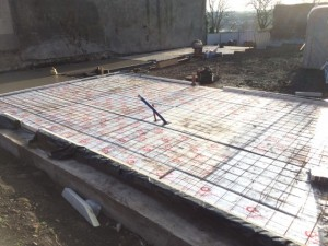 insulated floor slab