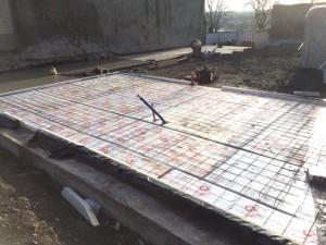 insulated floor slab