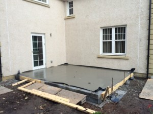 concrete floor by GMC