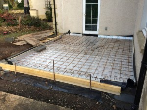 Insulated concrete floor