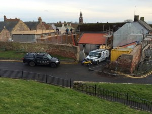 Rose Mount, Betwick upon Tweed by GMC Building Contractors