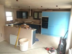 new kitchen scottish borders
