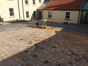 paving berwick upon Tweed