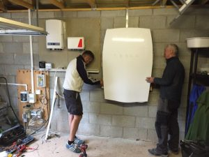 tesla powerwall scottish borders