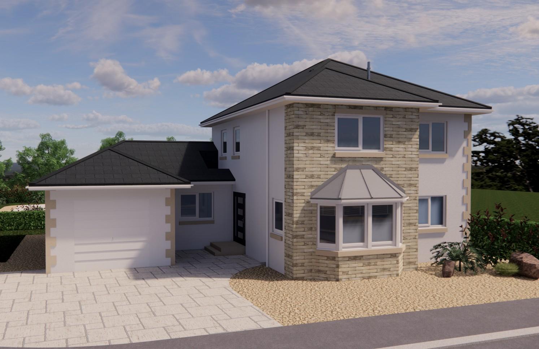 detached luxury modern home lowick Northumberland Harthope