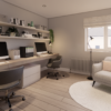Fourth double bedroom or study perfect for working from home