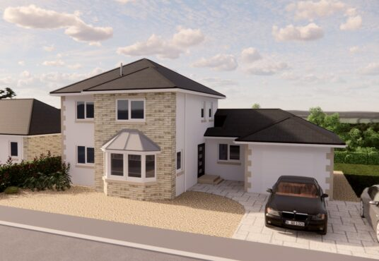 Exterior view of The Harthope Village Meadows Lowick 4 bedroom detached house for sale